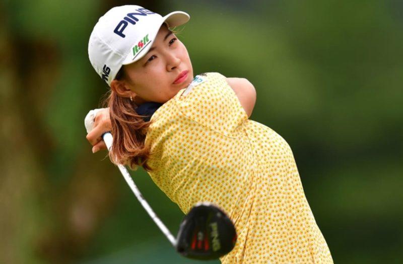 渋野日向子の黄色のゴルフウエアのブランドは?